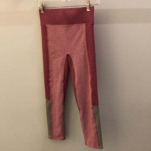 WeMe Pants - WeMe pink block legging, sz S, 70921